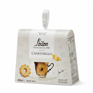 Canestrello biscuits - fine butter cookies in a gift box Loison