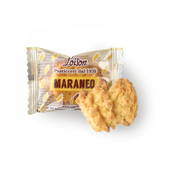 Maraneo Biscuits with Marano corn flour idividually wrapped