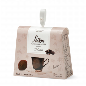 Cacao biscuits - fine butter cookies in a gift box Loison