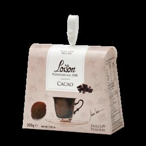 Biscotti artigianali al cacao in astuccio regalo 200 gr