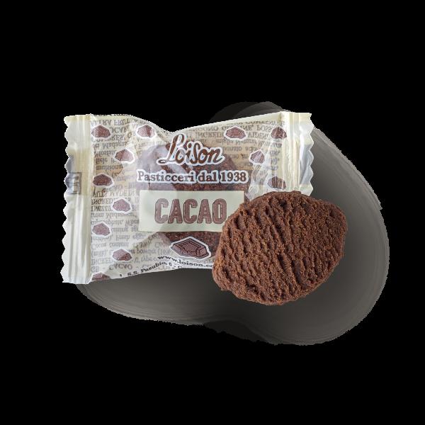 Biscuits cacao en sachet individuel