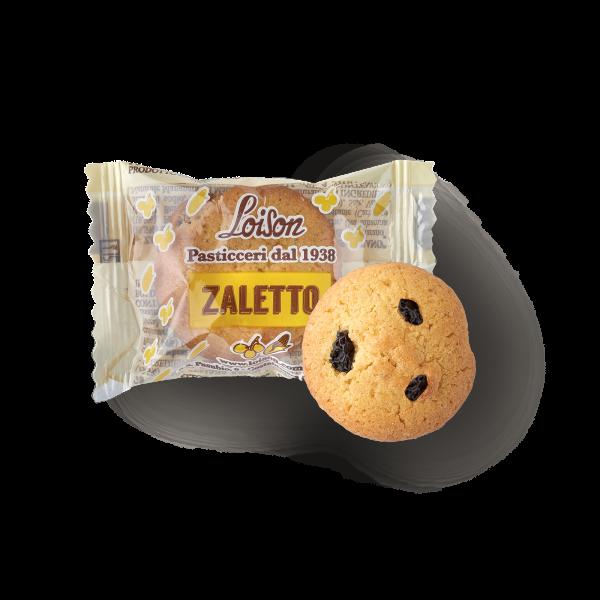 Biscotti Zaletto farina di mais e uvetta monoporzione confezionati singolarmente