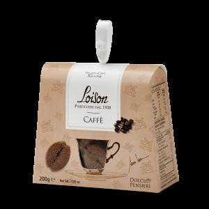 Biscotti artigianali al caffè in astuccio regalo 200 gr