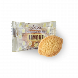 Lemon Biscuits individually wrapped - Loison