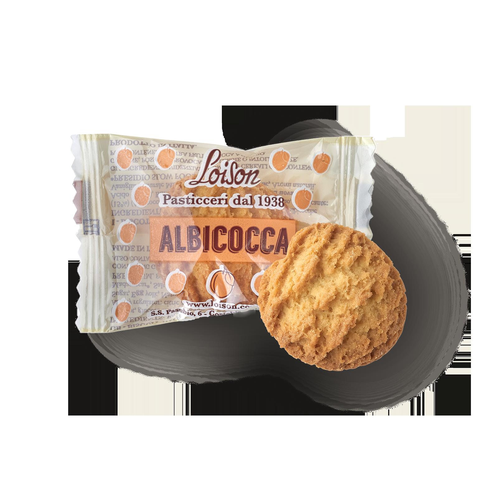 Biscuit apricot en sachet individuel