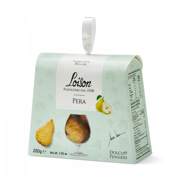 Biscuits poire coffret gourmand 200 gr