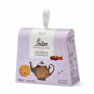 Biscuits griotte et cannelle coffret gourmand 200 gr