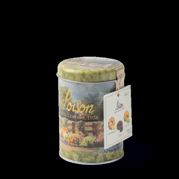 Biscuits italien artisanaux en boîte metal 120 gr - Canestrello Café et Zaletti