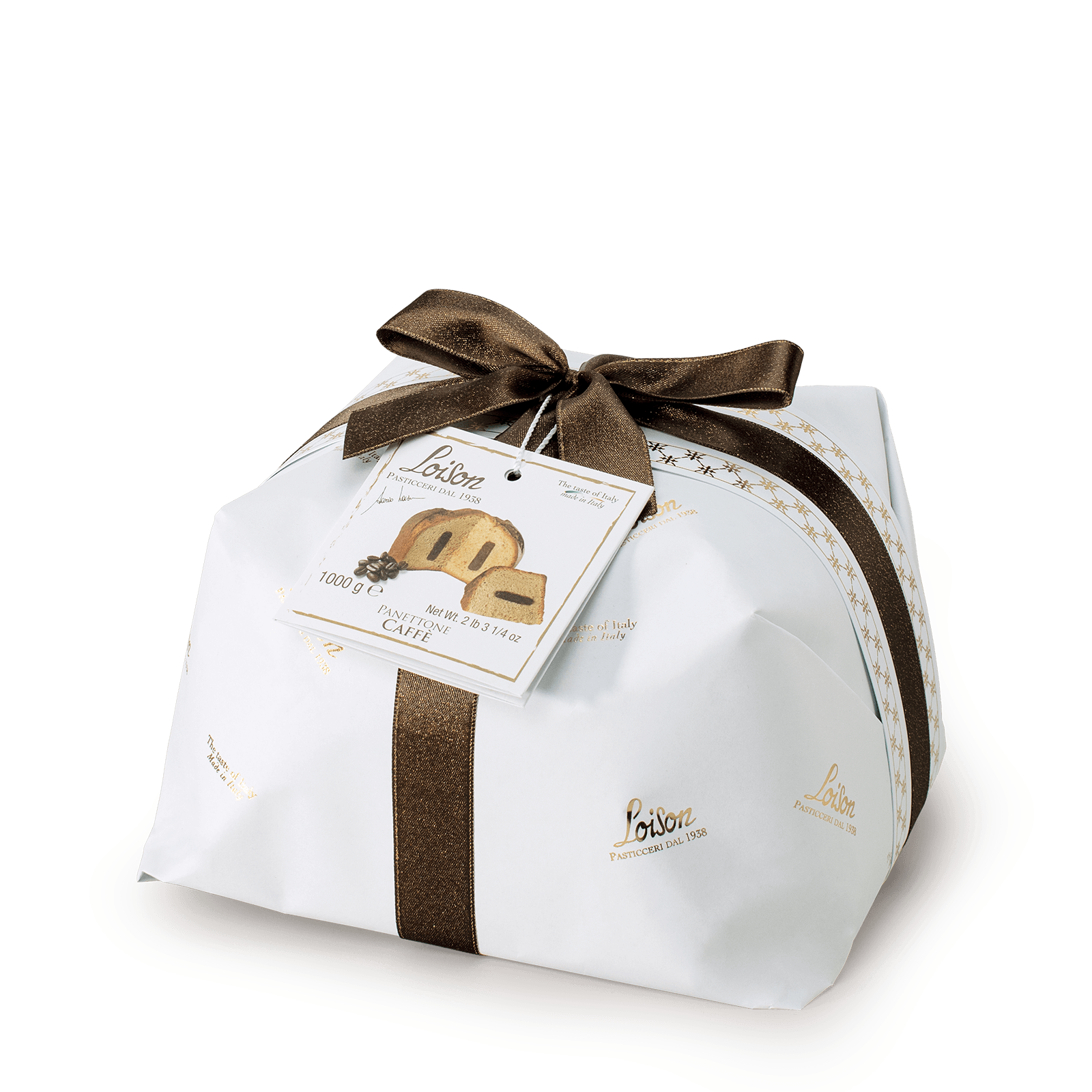Panettone with Coffee Cream Royal Loison