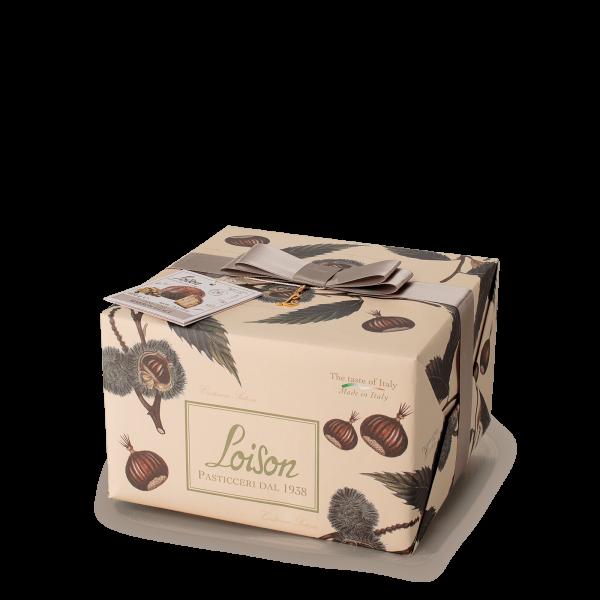 Panettone marron glacé - Fruits et fleurs Loison