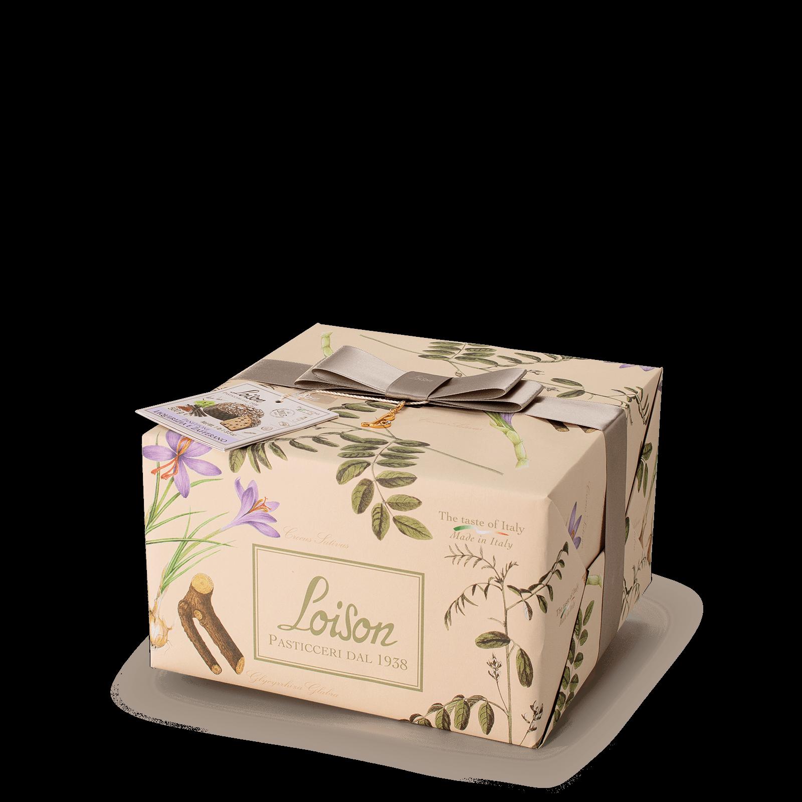 Panettone réglisse et safran – 1kg - Fruits et fleurs Loison