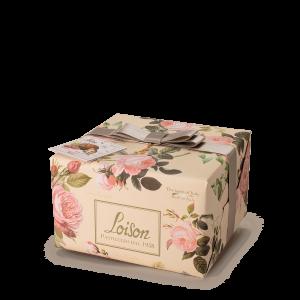 Panettone Rose avec creme à la rose - Fruits et fleurs Loison