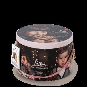 Panettone chocolat en boîte metal - Loison