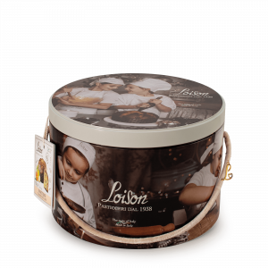 Traditional Panettone in a tin Loison
