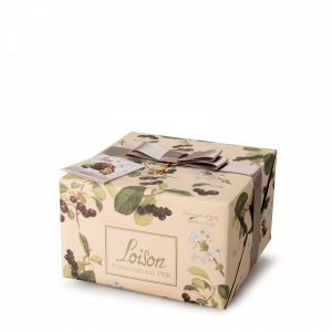 Cherries Panettone - Fruit and Flowers Loison
