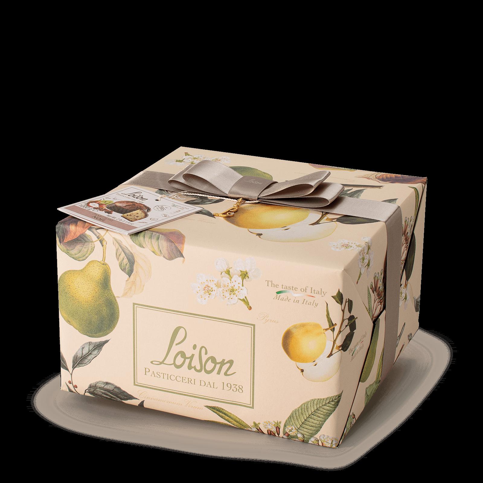 Panettone Noel Pera e spezie Frutta e Fiori