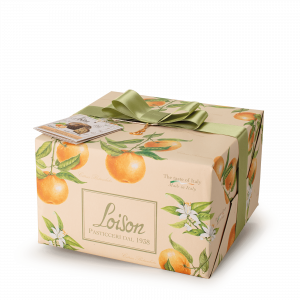 Mandarin Panettone - Fruit and Flowers Loison