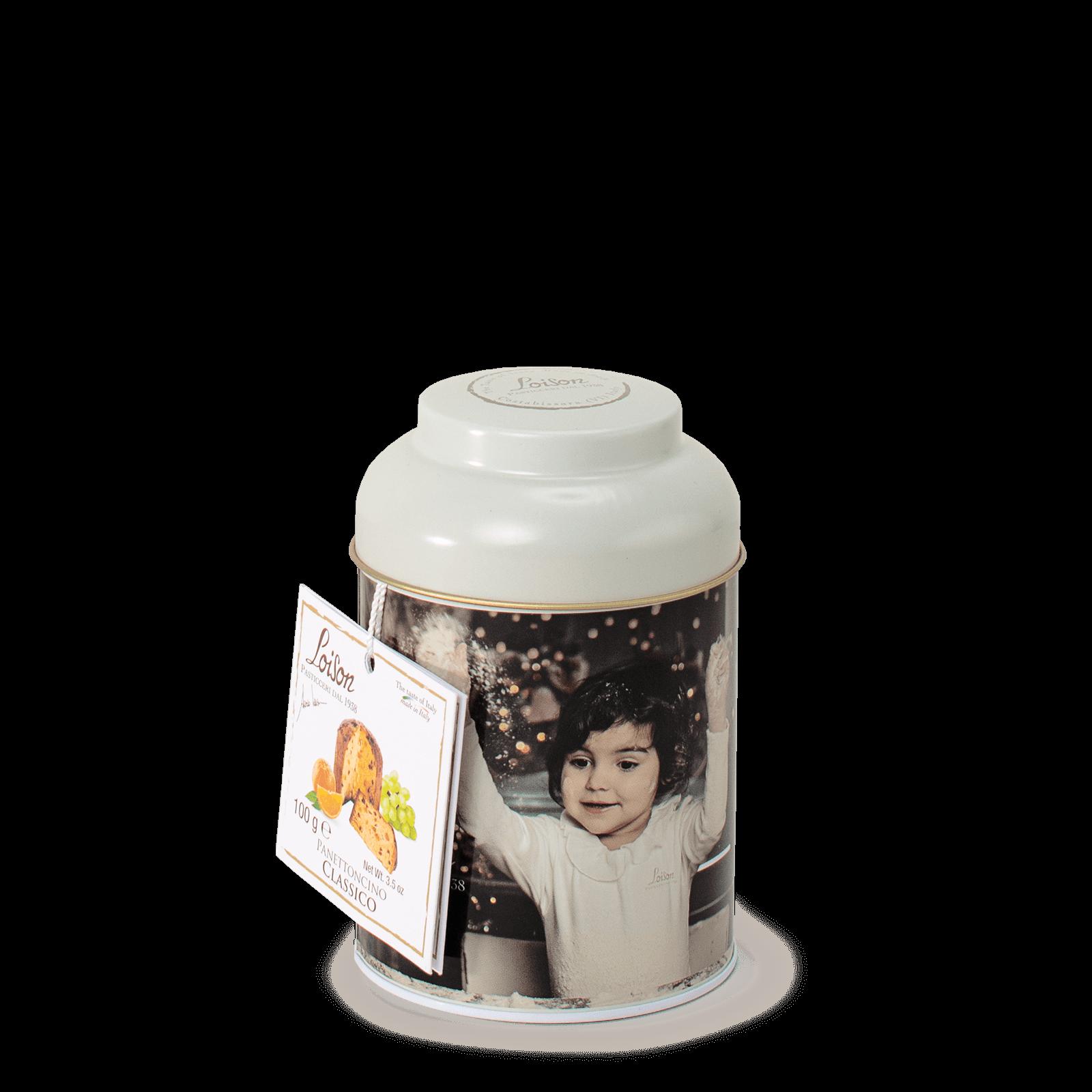 Panettoncino Classico Mignon in latta Loison