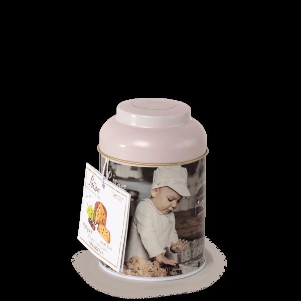 Panettone mignon griotte 100 gr en boîte - Loison