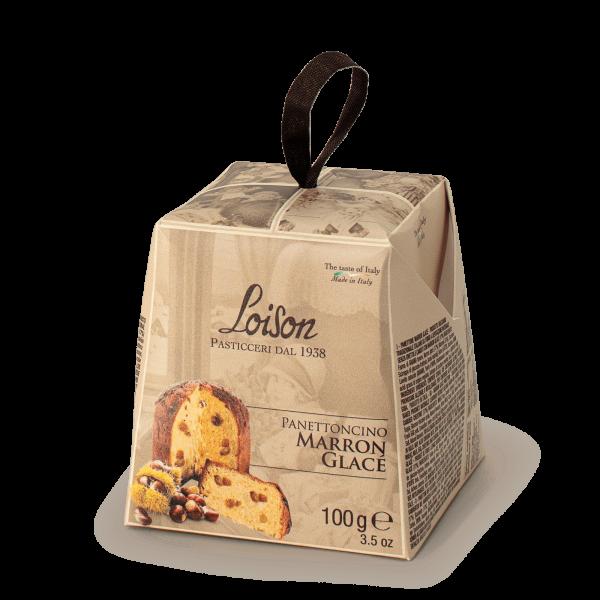 Panettone mignon marron glacé - Ligne Tuttigiorni Loison