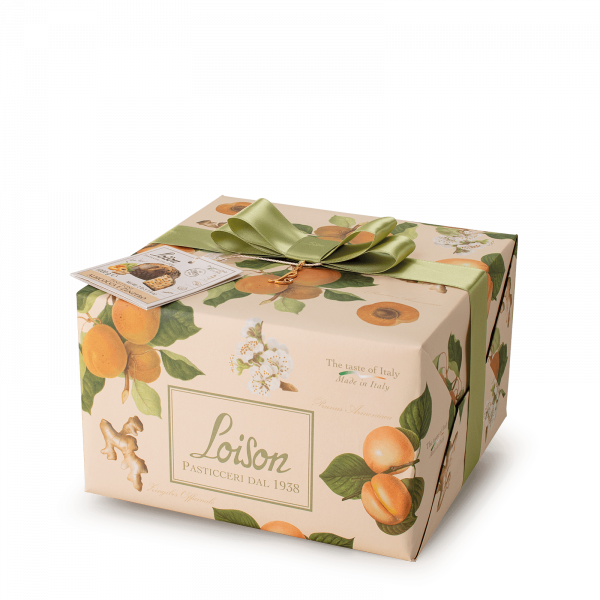 Panettone aux Abricots et Gingembre - Fruits et fleurs Loison