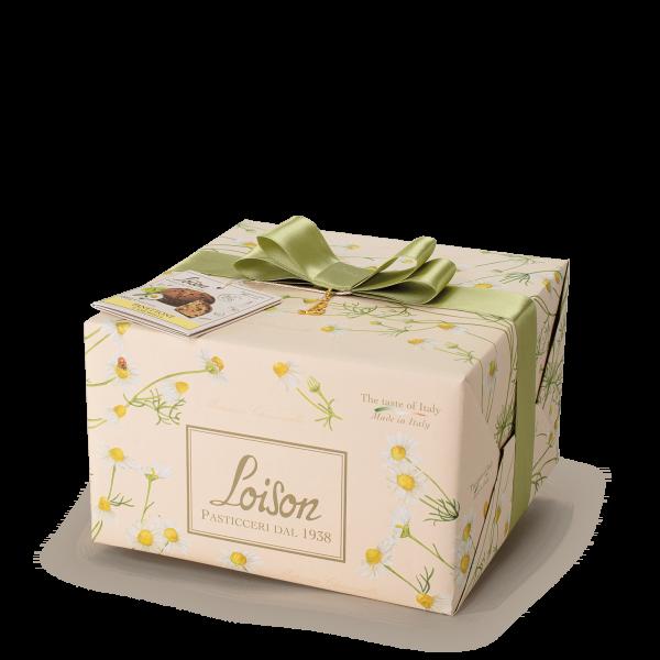 Panettone à la Camomille - Fruits et fleurs Loison