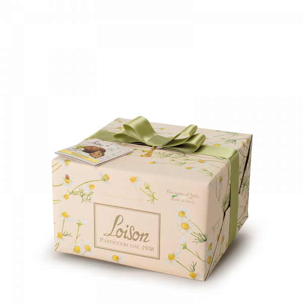 Chamomile Panettone - Fruit and Flowers Loison