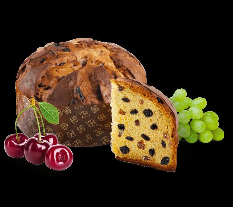 Panettone Cherry – 1kg – Frutta e Fiori