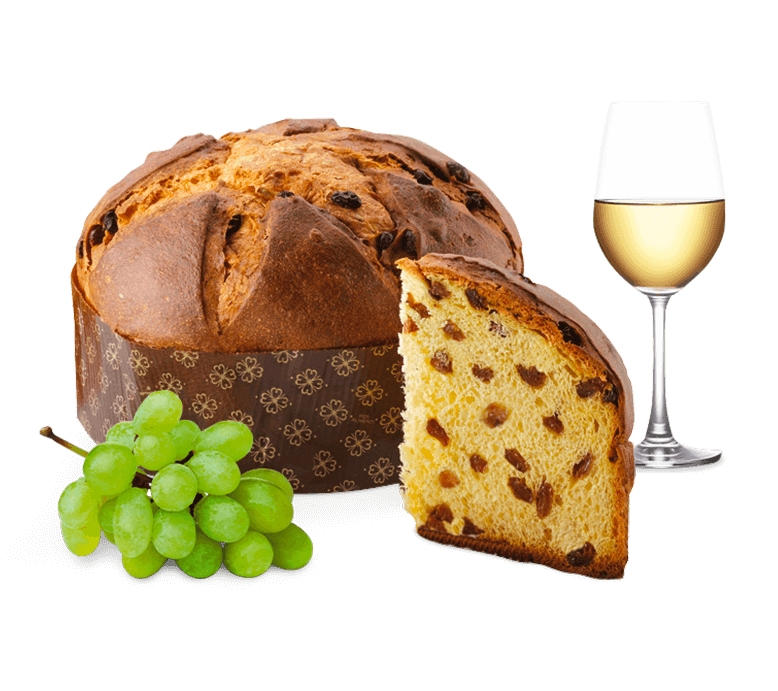 Panettone DiVino with a blend of Raisin Wines – 1kg – Genesi