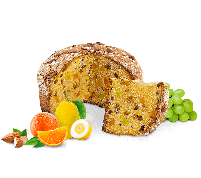 Panettone with Almonds – 1kg – Royal