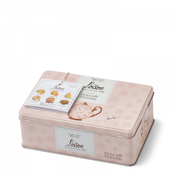 Butter Biscuits in a tin 280g - 6 flavours: fruit and meditation Loison