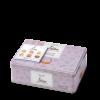 Biscuits artisanaux au beurre en boîte metal 280 gr - 6 saveurs fruits et méditation