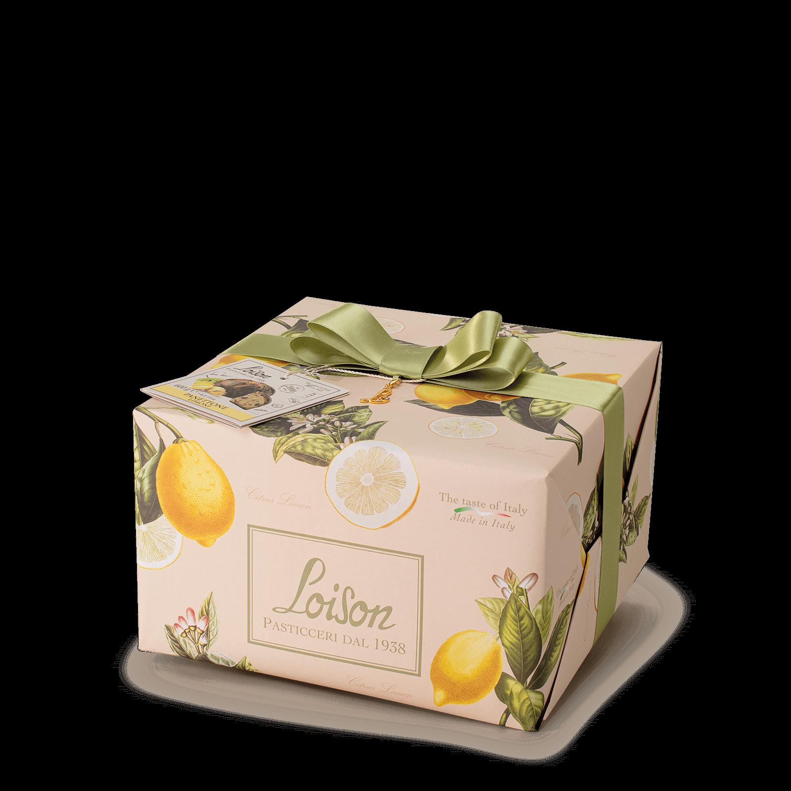 Panettone crema al Limone Frutta e Fiori