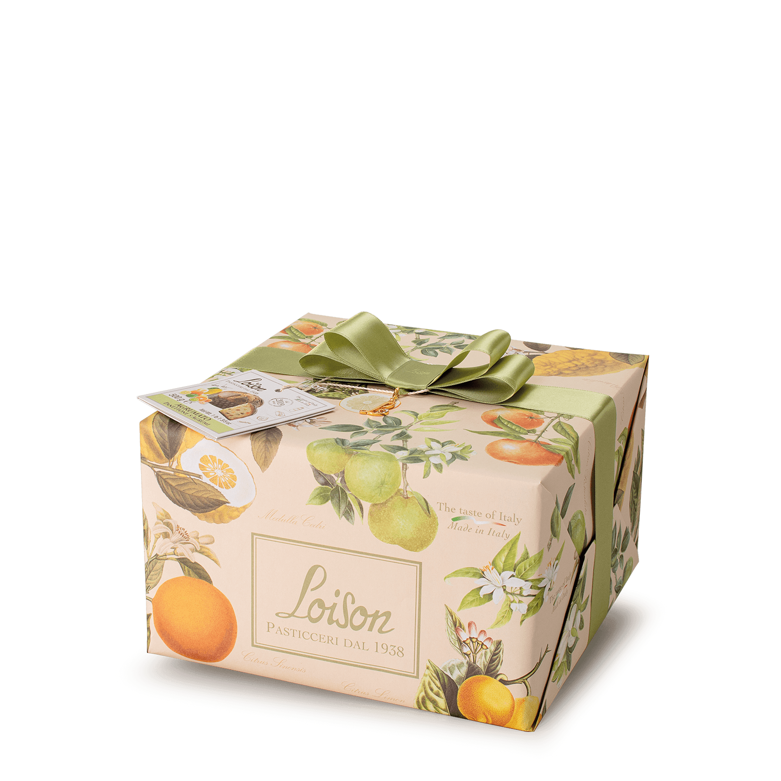 5 citrus fruits Panettone - Fruit and Flowers Loison