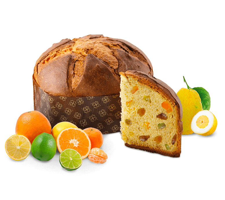 Panettone Agrumato – 500g – Frutta e Fiori