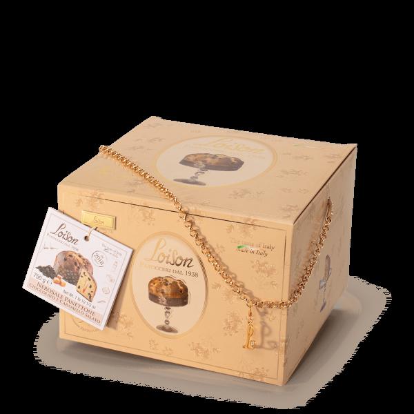 Panettone artisanal caramel salé et chocolat - Ligne Top Loison