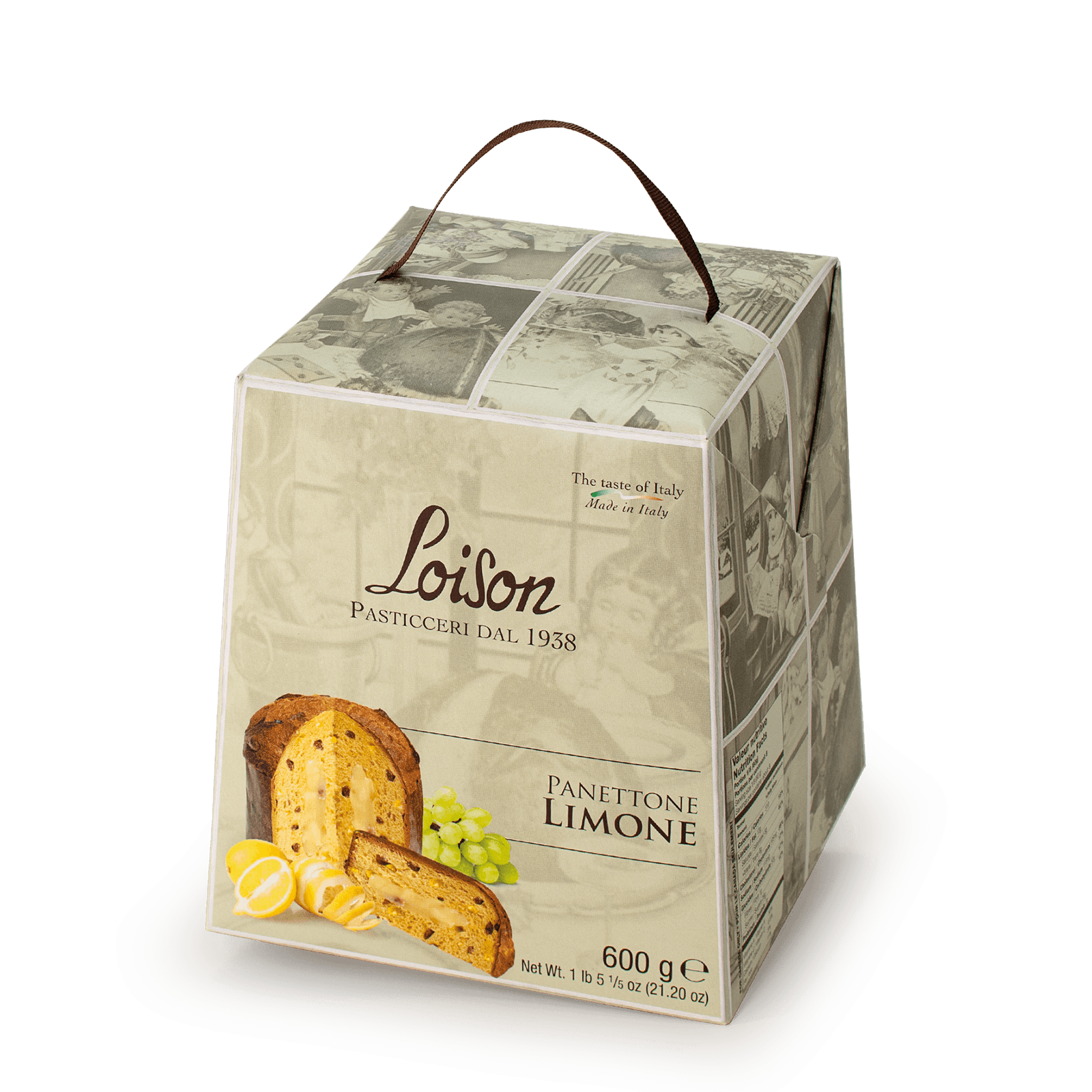 Panettone crema al Limone Astucci Loison