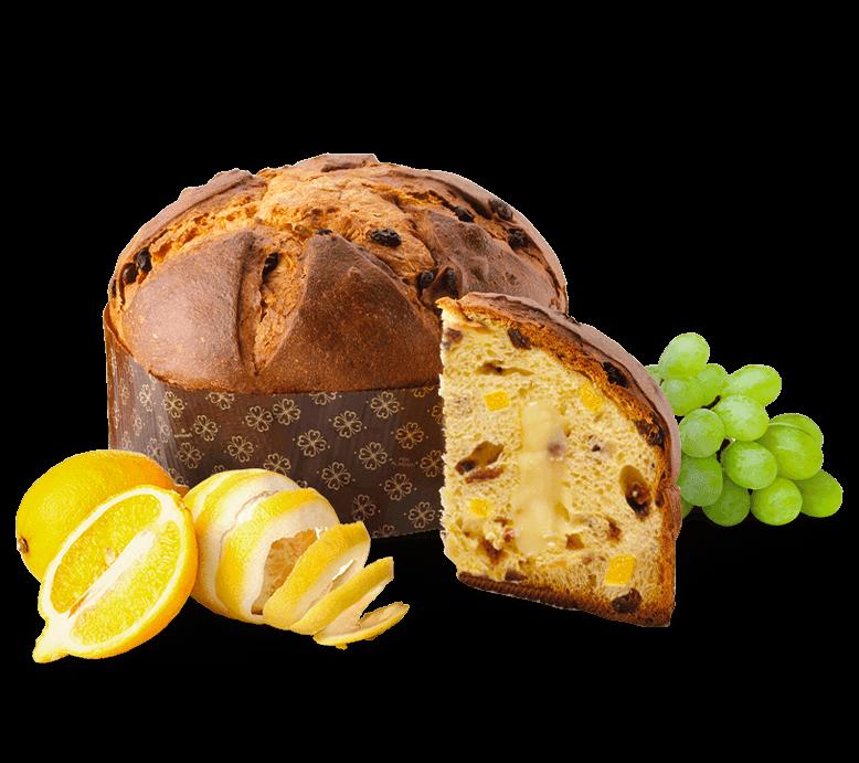 Panettone Lemons – 1kg – Frutta e Fiori
