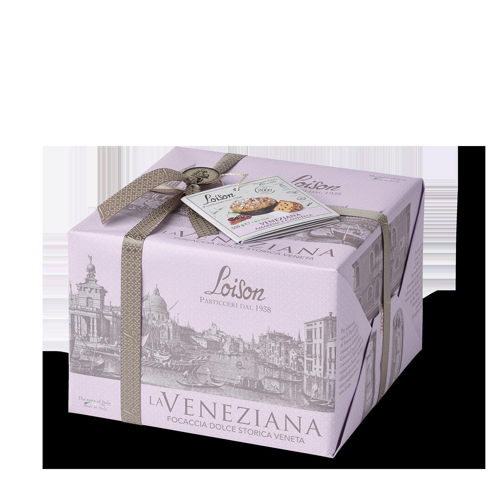 Veneziana amarena e cannella