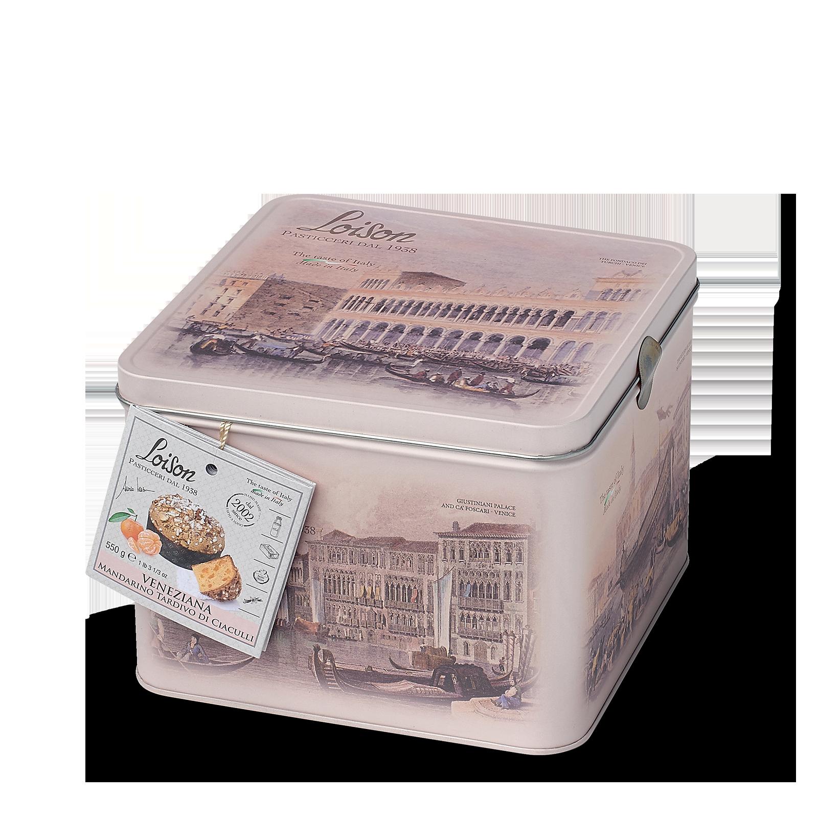 Veneziana gâteau brioché à la mandarine en boîte