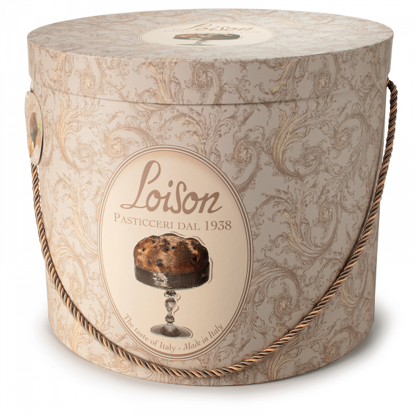 Classic Giant Panettone in a hat box Loison 10kg