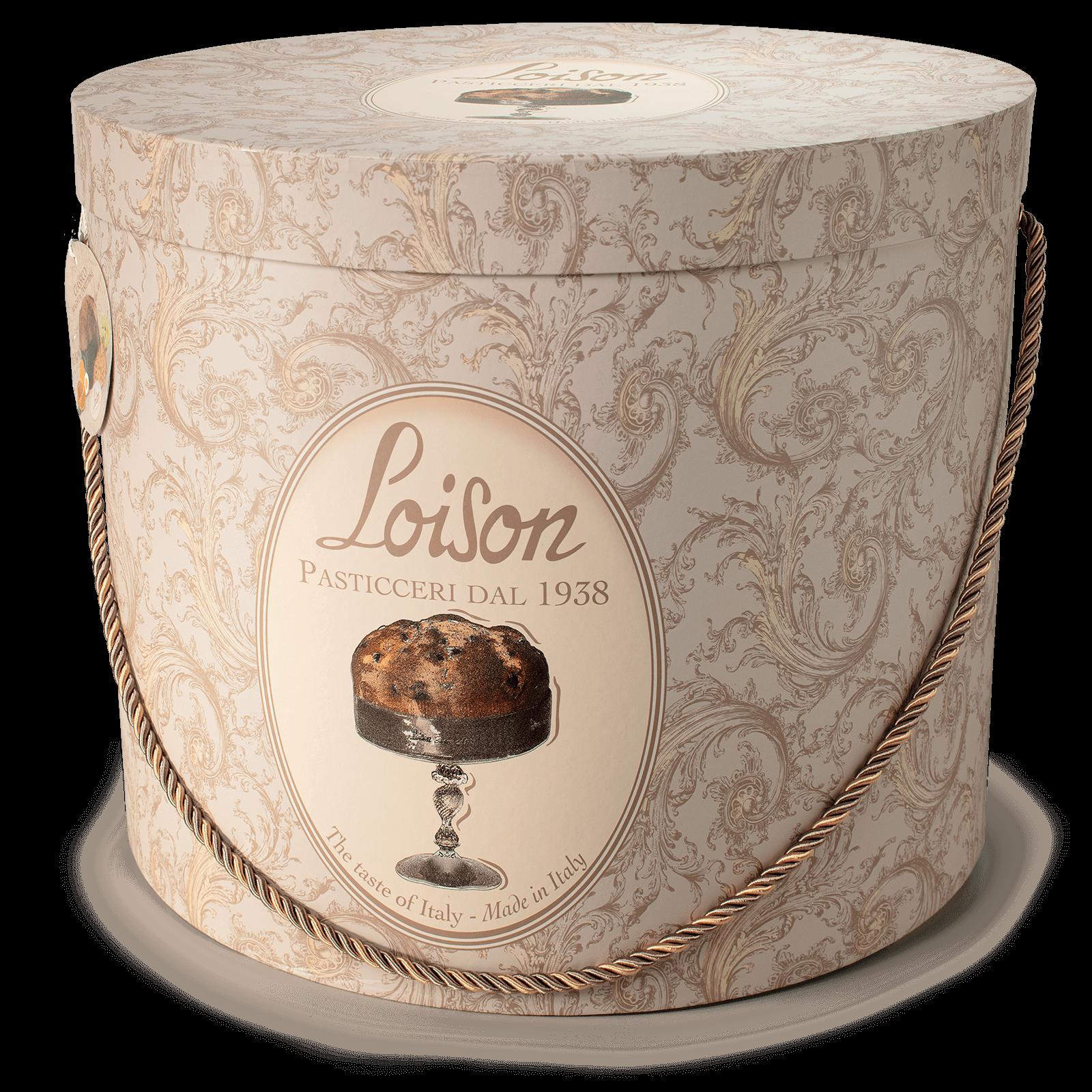 Panettone magnum 10 kg dans boîtes à chapeaux - Loison