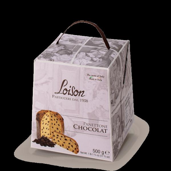 Chocolate Panettone Tuttigiorni Line Loison