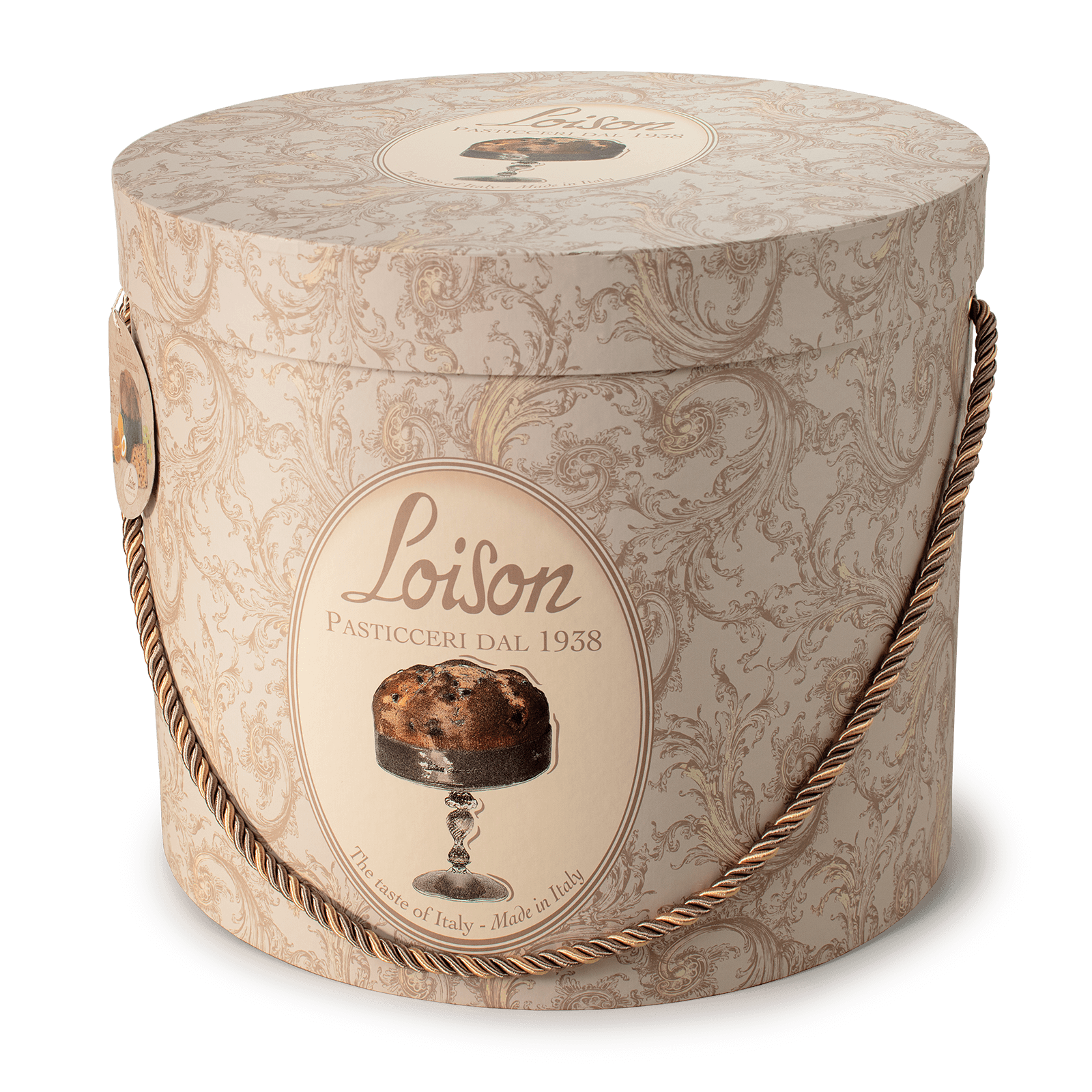 Classic Giant Panettone in a hat box Loison 5kg