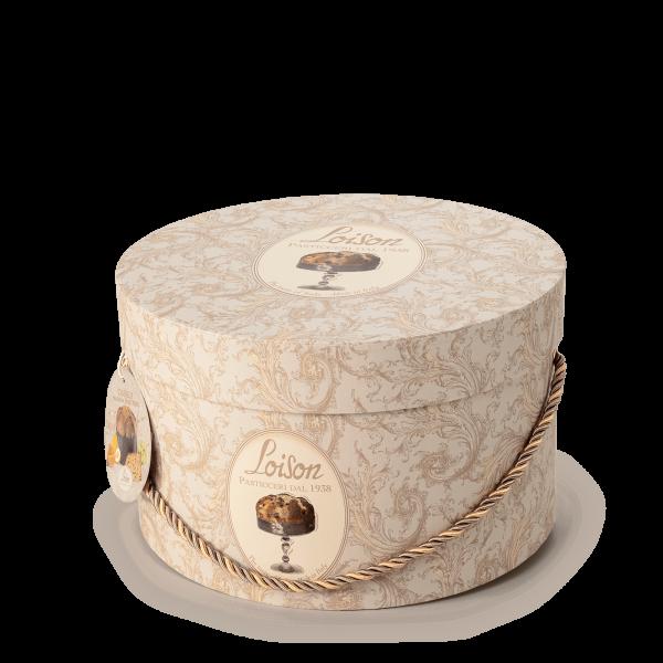 Panettone magnum dans boîtes à chapeaux - Loison