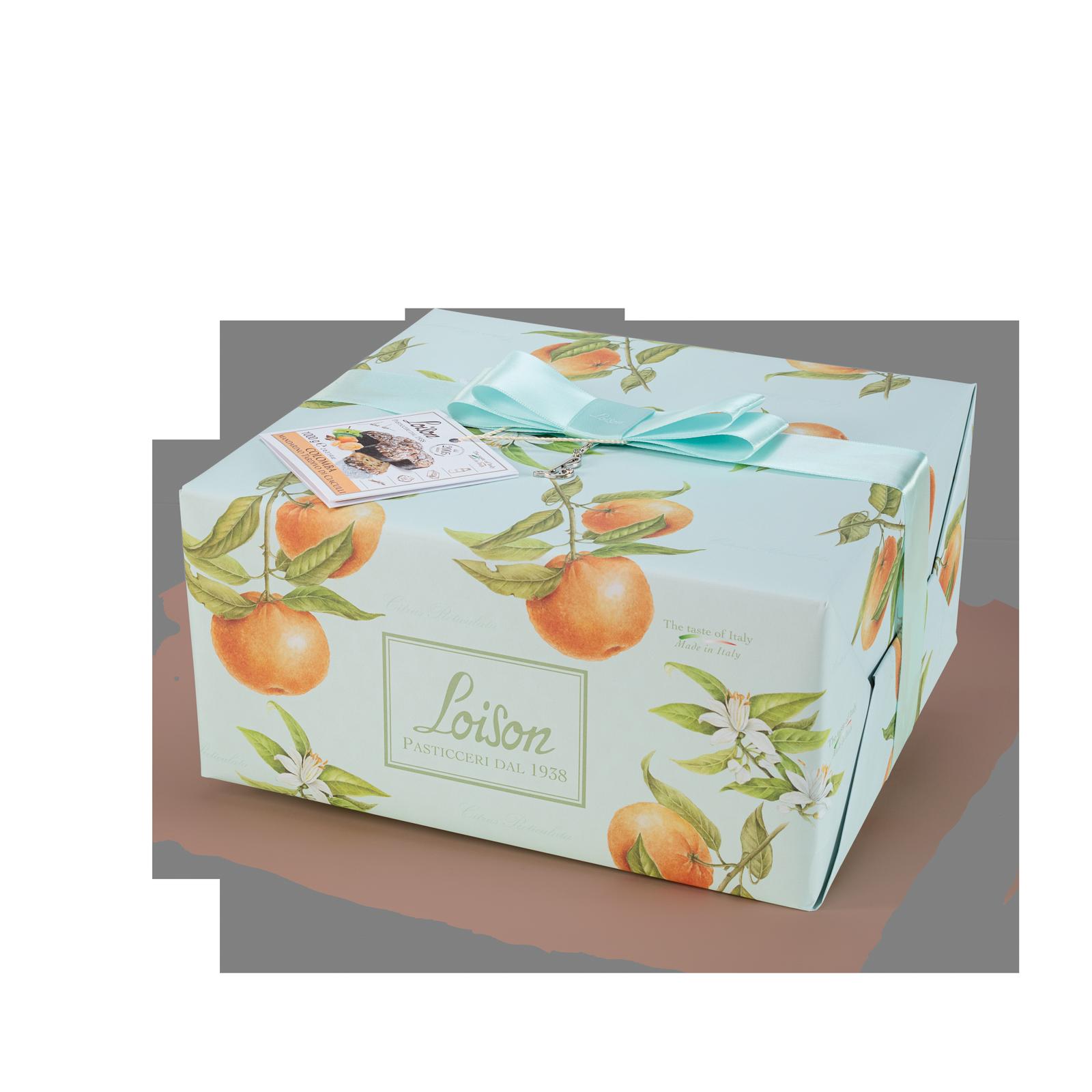 Colomba artigianale mandarino