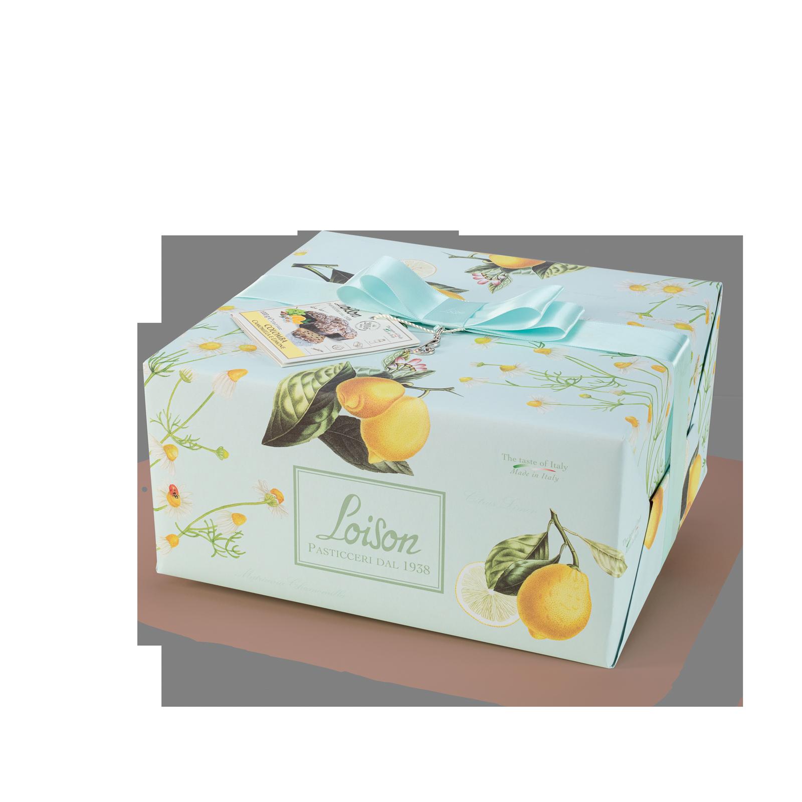 Colomba artigianale camomilla e limone