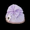 Colomba cioccolato in sacchetto tessuto lilla