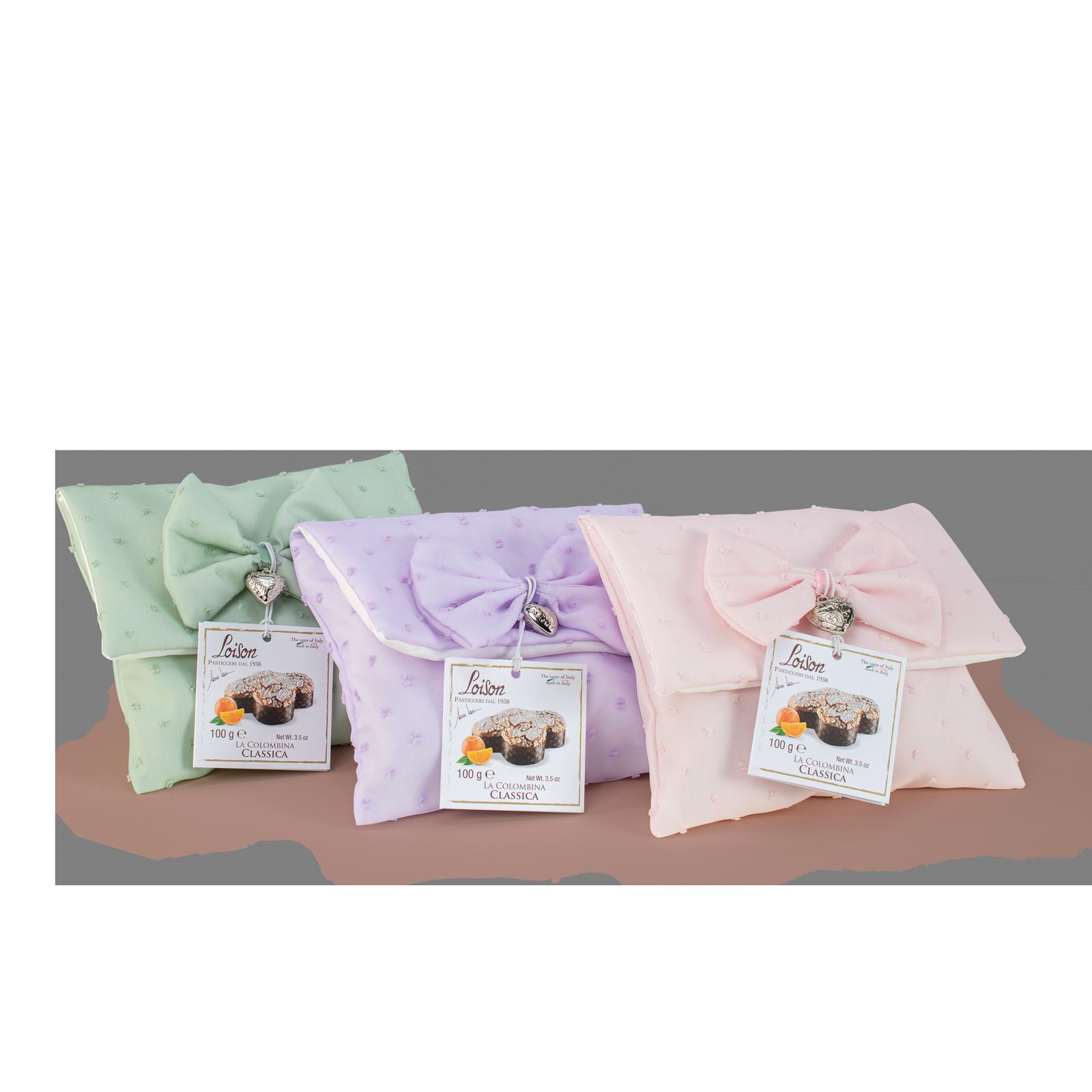 Colombine: mini colombe in sacchetti tessuto