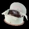 Colomba cioccolato in cappelliera